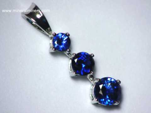 Sri Lankan Sapphire Natural Sapphire Pendant Necklace AGSL Certified Sapphire Necklace 2 carat sapphire necklace.