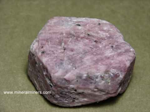 Pink Sapphire Crystal