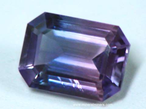 Rare Blue and Pink Natural Sapphire Gemstone
