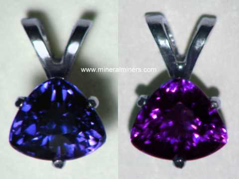 Natural Color Change Sapphire Jewelry