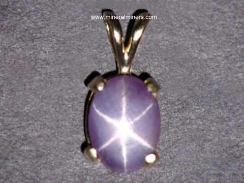 Sapphire necklaces 14k gold star purple sapphire pendant item spkj155 mozeypictures Choice Image