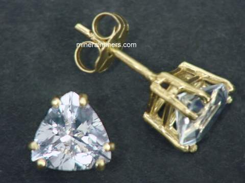 White Sapphire Earrings and Jewelry