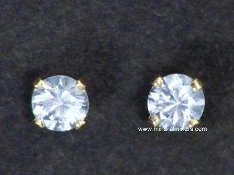 White Shire Earrings