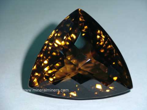 Smoky Quartz Gemstones