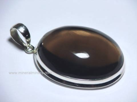 Smoky Quartz Pendants