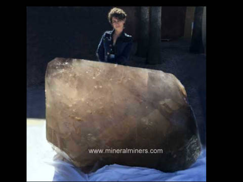Giant Smoky Quartz Decorator Mineral Specimens: large smoky quartz crystal