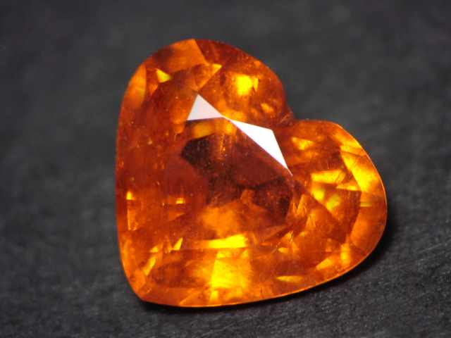Mandarin Orange Garnet Gemstones