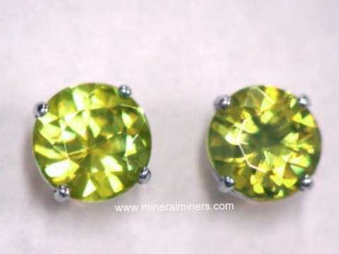 Sphene Earrings