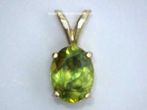 Sphene Jewelry