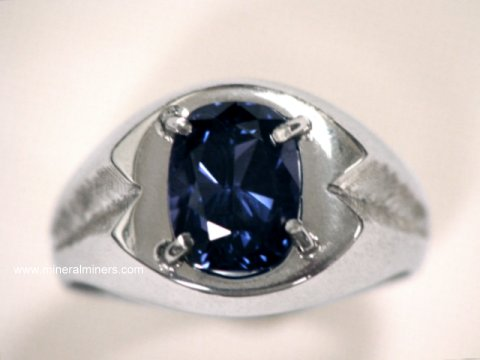 Blue Spinel Rings