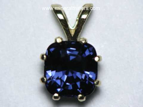 Spinel Pendants