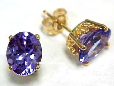Item Tanj260 Tanzanite Earrings