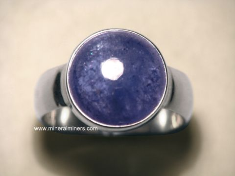 Tanzanite Ring: Tanzanite Rings in Sterling Silver