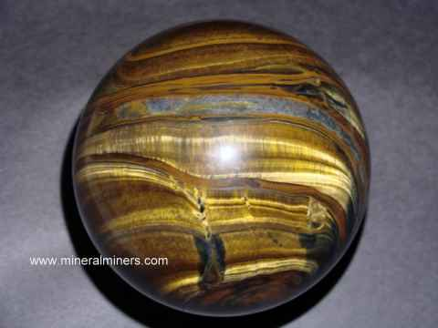 Tigers Eye Spheres