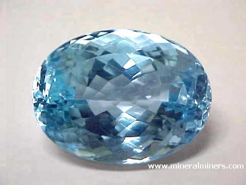 Blue Topaz Gemstone