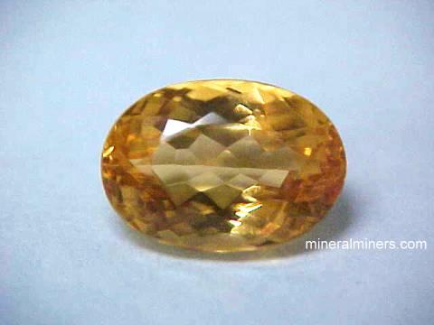 Topaz Gemstones: natural golden-orange-pink Imperial Topaz ...