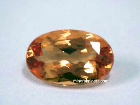 5.00 /& 6.00 MM Natural Imperial Topaz Faceted Heart Shape