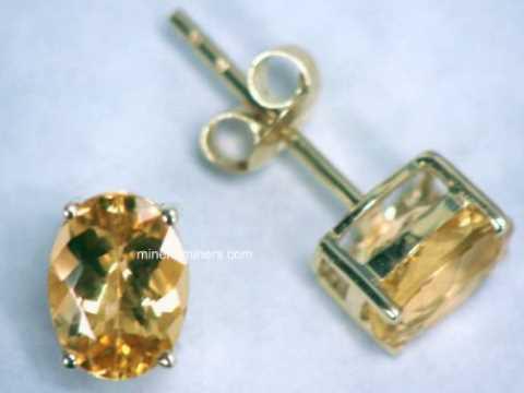 Topaz Earrings In 14k Gold Item Topj331 Jewelry
