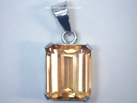 Natural Imperial Topaz Jewelry