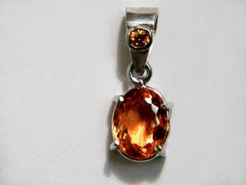 Imperial topaz jewelry golden topaz pendant necklace earrings item topj301 aloadofball Image collections