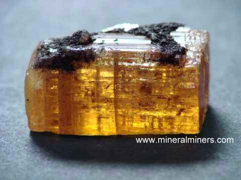 Imperial Topaz Crystals and imperial topaz mineral specimens