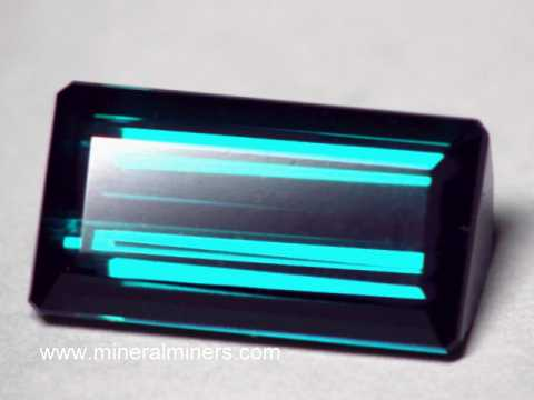 Blue Tourmaline Gem