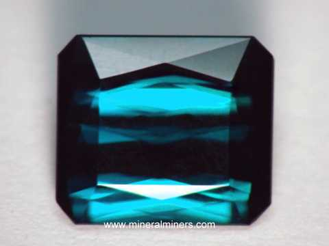 Blue Tourmaline Gemstones