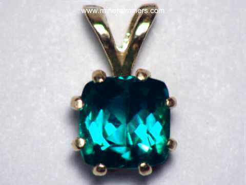 Blue Tourmaline Jewelry - Natural Color