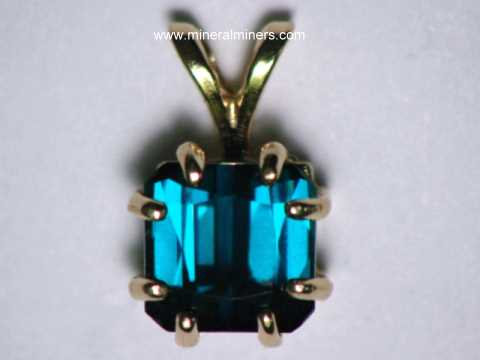 Click On Any Natural Color Blue Tourmaline Jewelry Image Below To Enlarge It