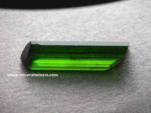 #S1016 c4.10 Cts..Natural Green Tourmaline..Faceted Tourmaline..Bio Colour Tourmaline..Tourmaline Faceted Square.m8.35x8.20x5.75 mm.