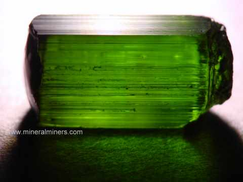 Green Tourmaline Facet Grade Rough