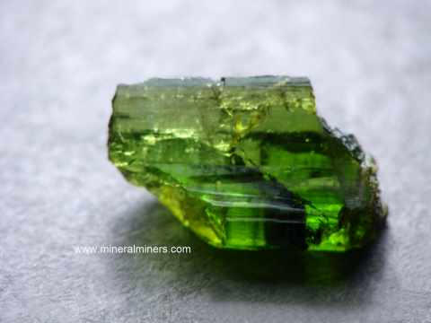 5.6 cts Natural Green Tourmaline from Africa