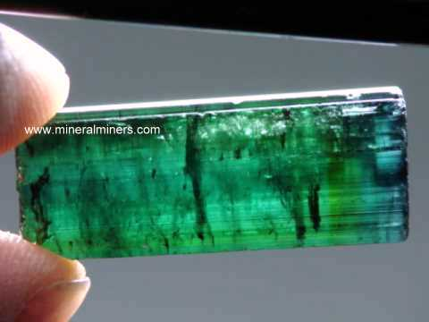 Bi-color Tourmaline Crystals