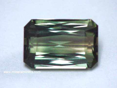 Olive Green Tourmaline 100/% Natural Bi-color Tourmaline Slice 7.5x6.5x2 mm Beautiful Loose Gemstone 10387 1.00 cts