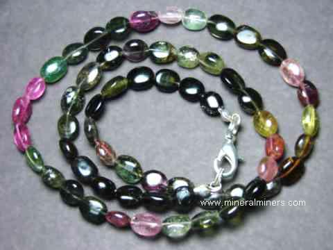 , 231 Carat Tourmaline Multi Color Tourmaline Beads  Beads Necklace Watermelon Tourmaline Necklace Tourmaline Necklace Beads Gift