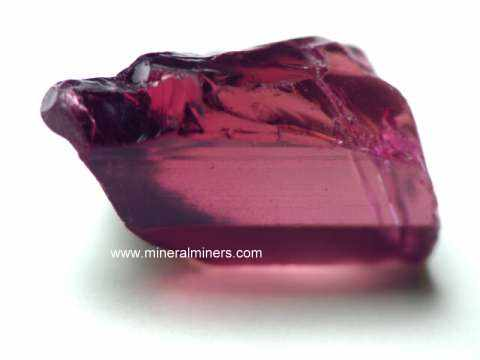 Rubellite Tourmaline Facet Grade Rough