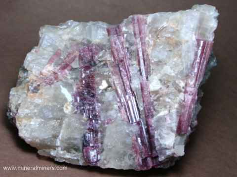 Large Pink Tourmaline Decorator Mineral Specimens