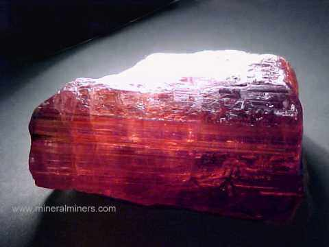 Rubellite Tourmaline Rough