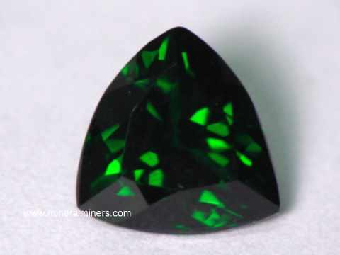Spectacular Collector Quality Tsavorite Green Garnets
