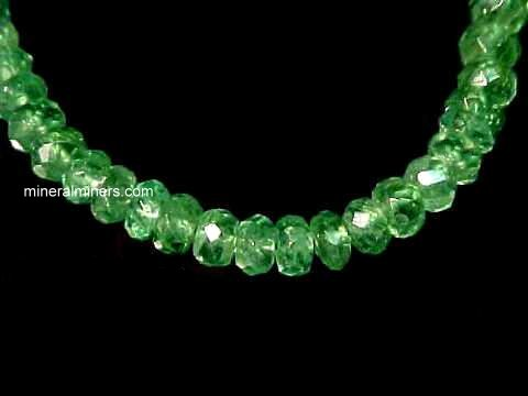 Tsavorite Green Garnet Necklace