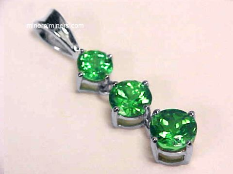 Tsavorite garnet jewelry 14k tsavorite earrings necklaces rings item tsvj150 aloadofball