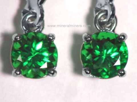 Tsavorite Garnet Jewelry 14k Earrings Necklaces Rings Pendants
