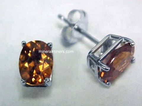 Zircon Jewelry: Brown Zircon Jewelry