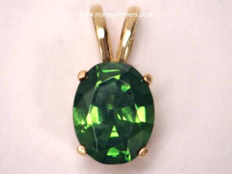 Zircon Jewelry: Green Zircon Jewelry