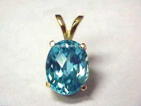 Zircon Jewelry: Blue Zircon Jewelry