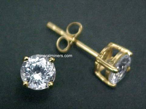 Click On Any Zircon Earrings Pair Necklace Or Other Gemstone Jewelry Image Below To Enlarge It